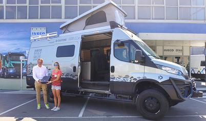 IVECO Daily Van Life Adventure przygoda na pokładzie Daily 4x4
